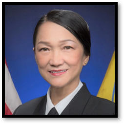 Captain Sally Hu, U.S. Public Health Service